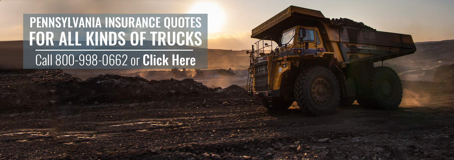 Pennsylvania Commercial Truck Insurance