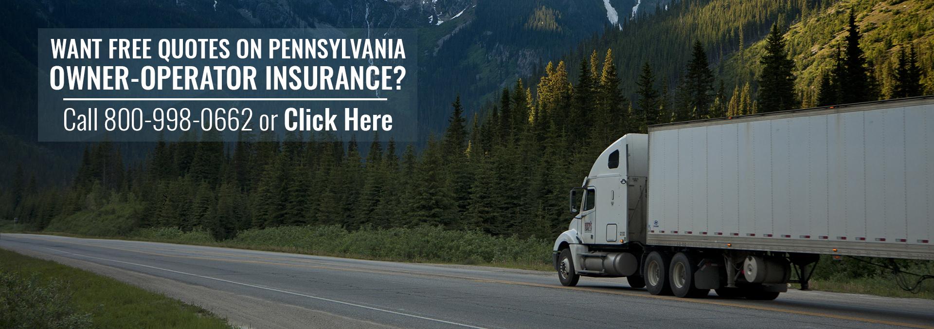 Semi Truck Insurance Pennsylvania
